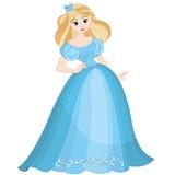 Fairytale blond princess