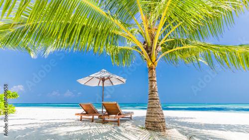 Stampa su Tela Beautiful beach
