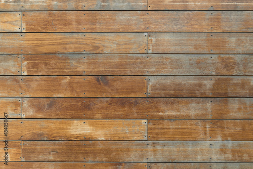 Cadres-photo bureau Bois Old brown wood board wall background