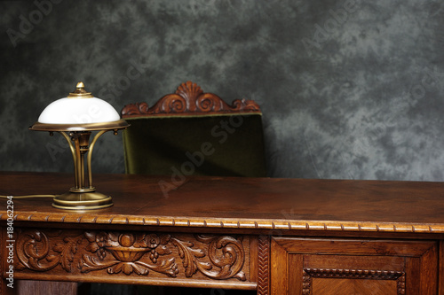 office, desk, business, stylish, classic, lifestyle, massive, wooden, carved, official,