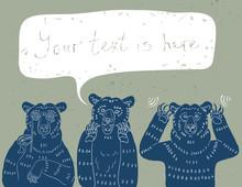 Three Wise Bears