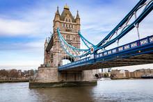 Tower Bridge, Skewed Angle, Lo...