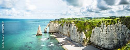 Fotografia Panorama in Etretat France Normandie