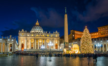 Saint Peter Basilica In Rome A...