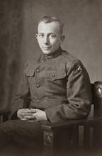 World War I Army Soldier