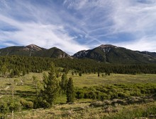 Idaho Mountains Near Island Park