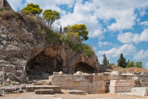 Photo  Sanctuary of Pluto (Hades), god of the Underworld, who abducted Persephone
