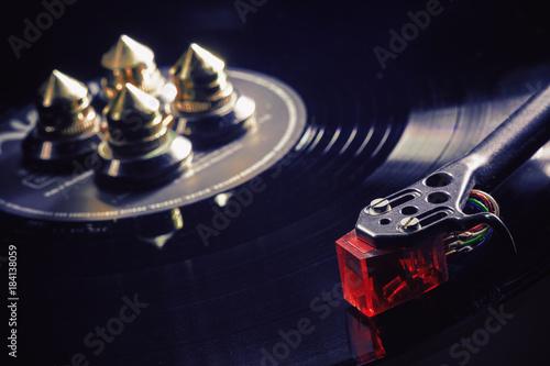 Photo Modern Gramophone in Work