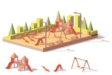 Vector Low Poly Playground