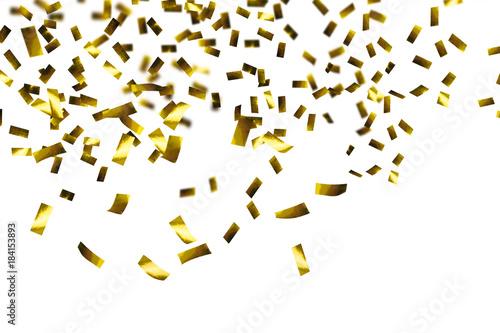 Obraz goldener konfetti regen, - fototapety do salonu