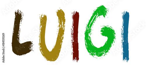 Photographie  Luigi - Nomi dal mondo