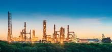 Landscape Of Oil Refinery Plan...