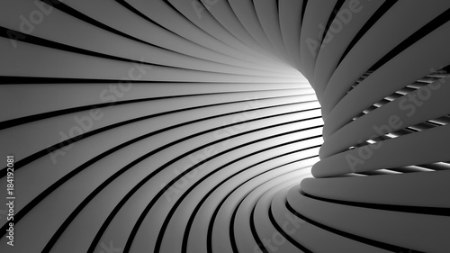 Obraz Architecture abstract tube Background - fototapety do salonu