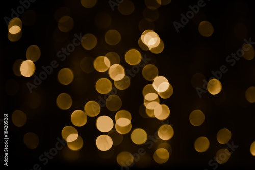 Beautiful Overlay bokeh light texture Fototapet