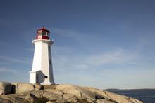 Peggys Cove Lighthouse, Nova S...