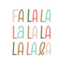 Kbecca_vector_handlettered_falala_christmas_words