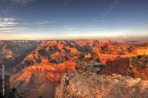 Poster Corail Sunset @ Grand Canyon