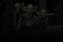 3d Illustration Of Scary Monst...