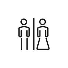WC Male And Female Symbol Icon