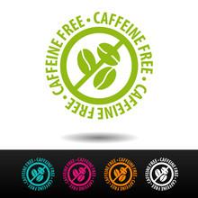 Caffeinel Free Badge, Logo, Ic...