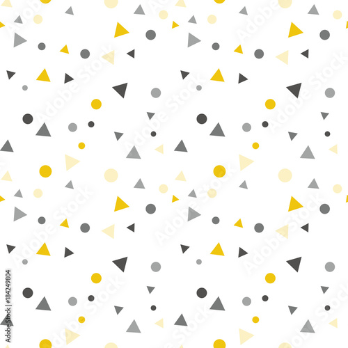 party-uroczystosci-konfetti-trojkaty-i-kropki-wektor-wzor