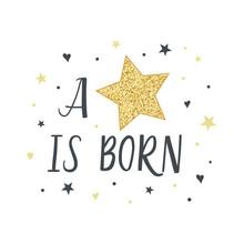 A Star Is Born. Fashion Illust...