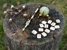 Wicca Magic Objects, Pentagram...