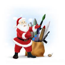 Santa's The New Year Presents,...