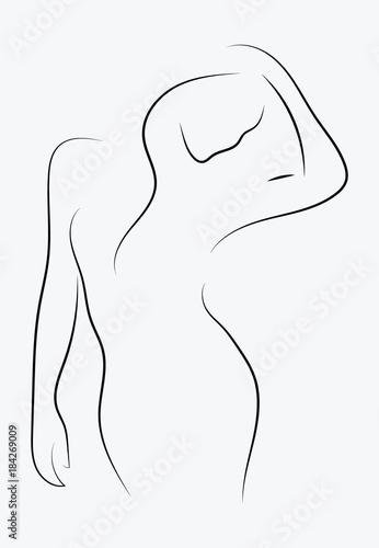 Fotografie, Obraz  Female figure