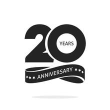 20 Years Anniversary Logo Temp...