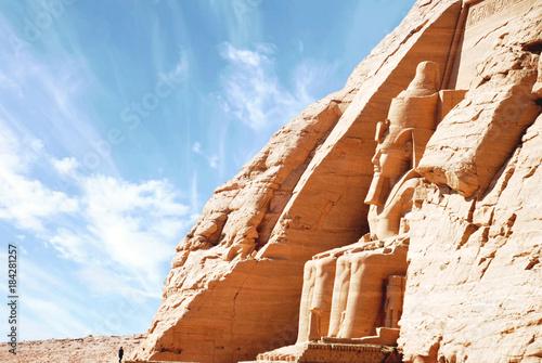 Fotografia, Obraz Egyptian temple of Abu Simbel, Egypt