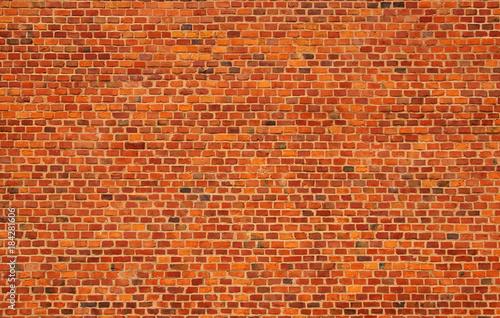Photo sur Toile Brick wall red brick wall texture