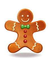 Gingerbread Man. Christmas Bak...