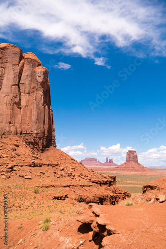 Papiers peints Corail Monument Valley
