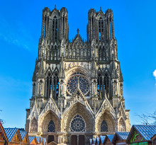 Notre Dame Of Reims Cathedral, France