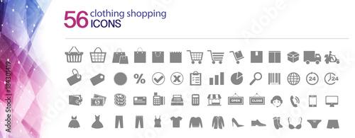 Tela Iconos de tienda