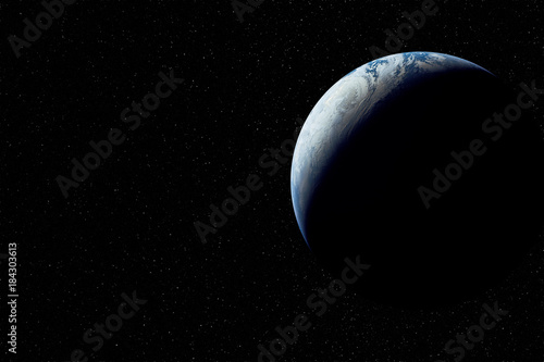Tuinposter Nasa Planet earth in space. Elements of this image furnished by NASA