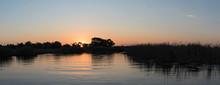 Sunset On The Okavango River I...