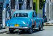 Cuba, old cars havana