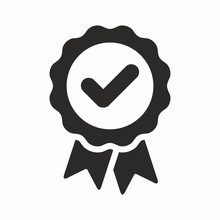 Approval Check Vector Icon