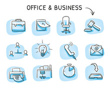 Set With Different Business An...