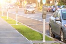 Image Of Parking Meters City R...