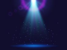 Magic Shining Background With ...