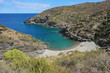 Mediterranean cove with pebble beach, Cala Nans, Spain, Costa Brava, Cadaques, Cap de Creus, Alt Emporda, Catalonia
