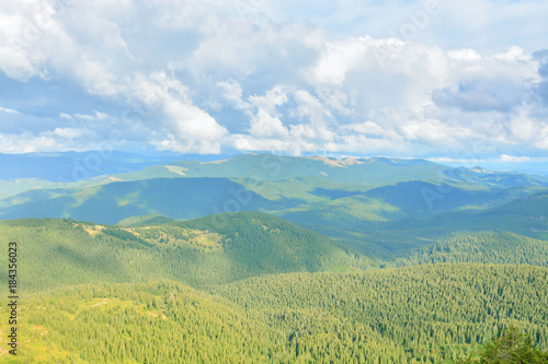 Foto op Canvas Olijf Beautiful mountain landscape