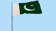 Isolate Flag Of Pakistan On A ...