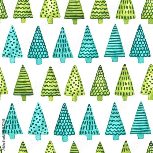 akwarela-zimowych-wakacji-backgound-z-jedlinowymi-drzewami-boze-narodzenie-i-nowy-rok-wzor