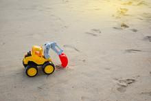 Children's Toy Excavator Car O...