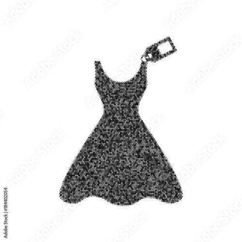 Fotografie, Obraz  Woman dress sign with tag