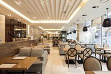 Restaurant, Coffee Shop, Hotel Interior In Seoul, Korea